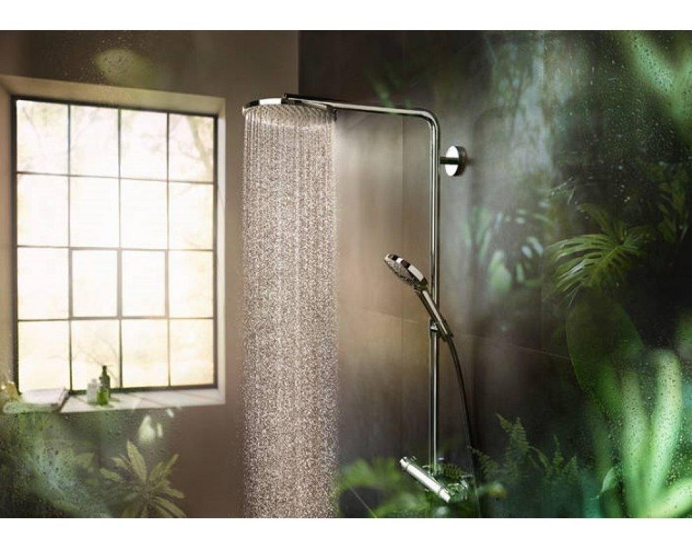 Sprchová súprava s termostatom Showerpipe 240 1jet P, chróm, Raindance Select S