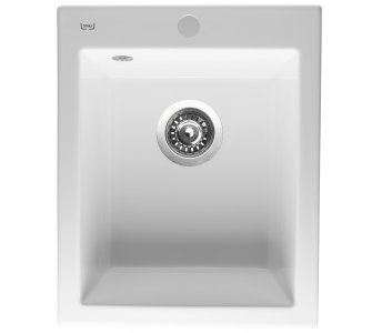 Drez keramický Sinks CERAM 410 biela