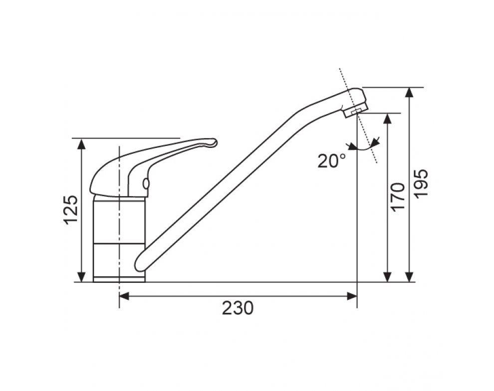 Batéria drezová granitová Sinks CAPRI 4 - 54 Truffle