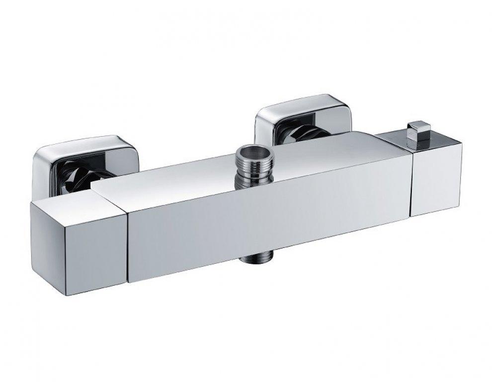 batéria sprchová termostatická pre 2 odberné miesta, bez príslušenstva, PRISMA