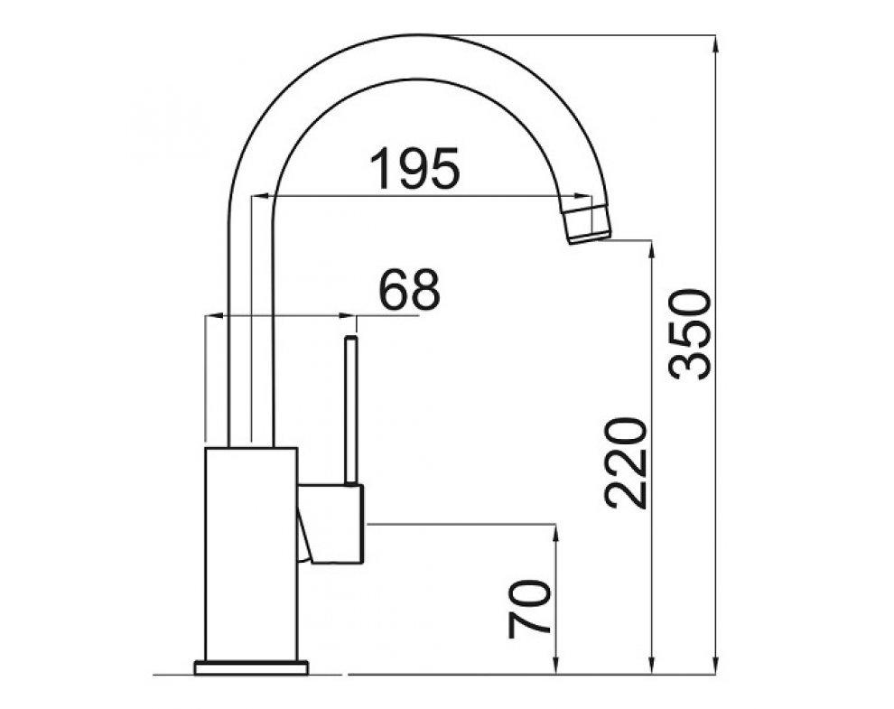 SET drez nerez Sinks BLOCKER 550 + batéria VITALIA