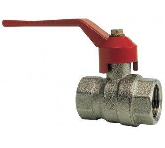 guľový ventil FF, páka, 2