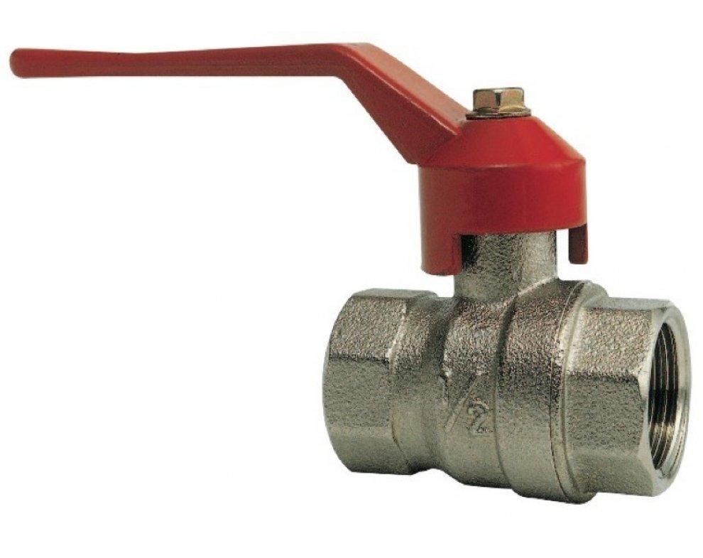 guľový ventil FF, páka, 4