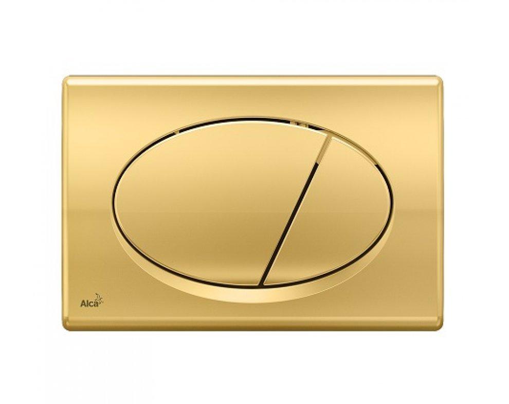 Ovládacie tlačítko pre predstenové inštalačné systémy, zlatá