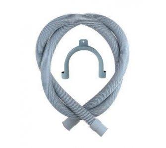Odtoková práčková hadica s U príchytom, 400cm