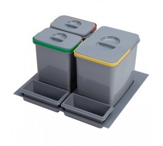 sorter Sinks PRACTIKO 600 1x12l+2x5l