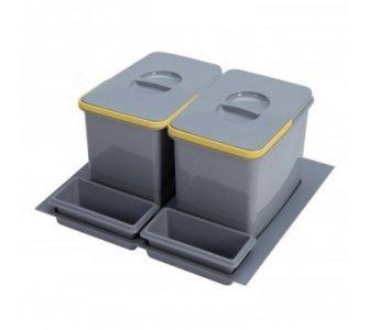 sorter Sinks PRACTIKO 600 2x12l
