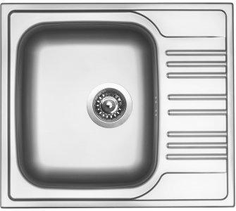 drez nerezový Sinks STAR 580 V 0,6mm matný
