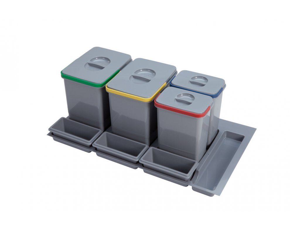 Sorter Sinks PRACTIKO 900 2x12l+2x5l