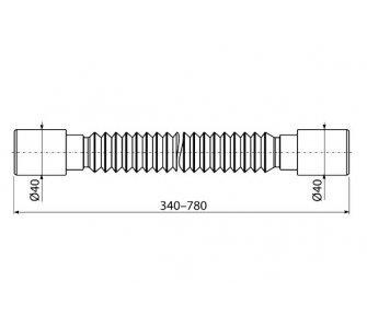 Flexi pripojenie 40×40