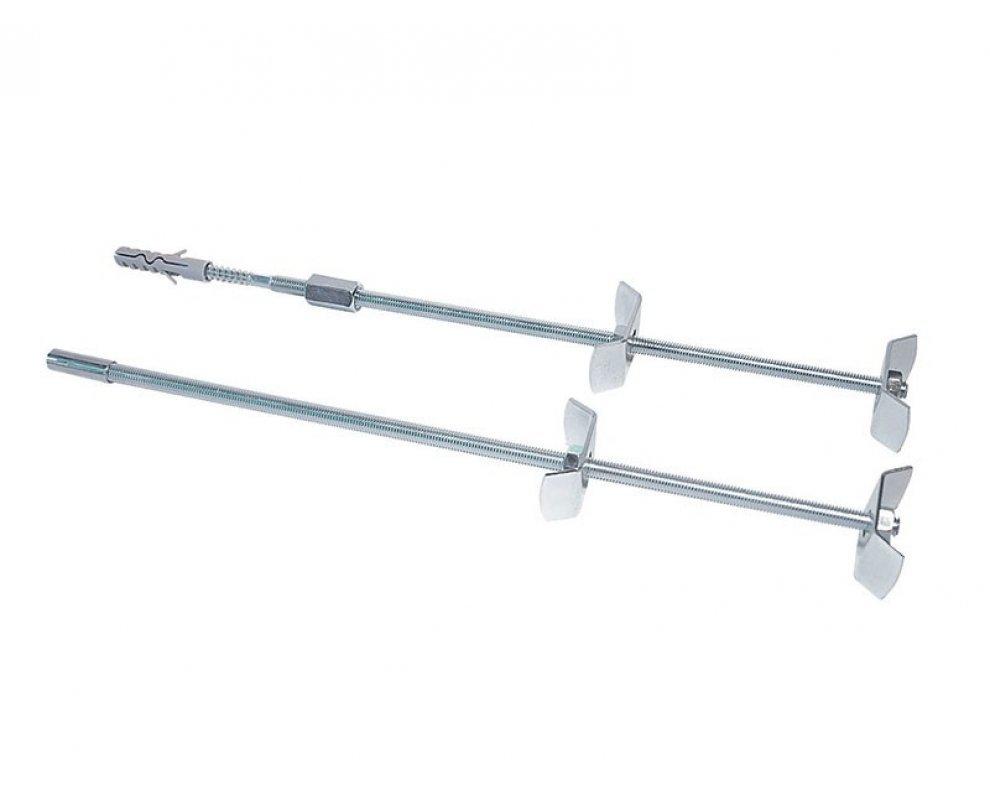 súprava na upevnenie radiátora s kombiskrutkou