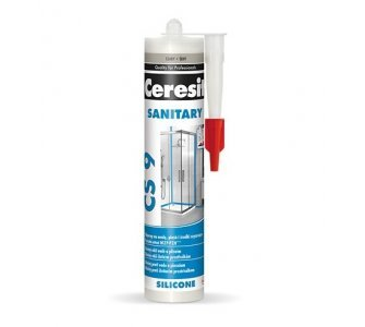 Ceresit Sanitárny silikón CS9 biely, 280 ml