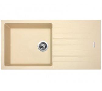 SET drez granit Sinks PERFECTO 1000 Sahara + batéria VITALIA GR