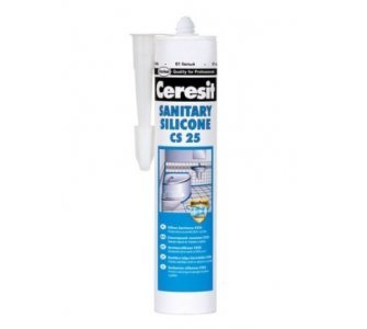 Ceresit Sanitárny silikón CS 25 transparent, 280 ml