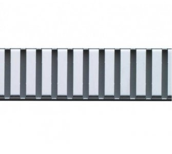 Rošt pre líniový podlahový žľab, 650mm, LINE, lesklý