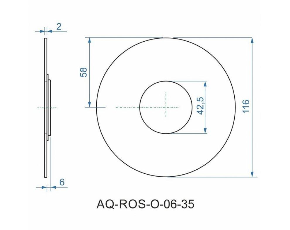 batéria AQS sprchová podomietková pre 1 odberné miesto, s AQ-boxom, ALTEA