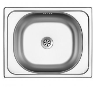 SET drez nerez matný Sinks CLASSIC 500 M + batéria VITALIA lesklá
