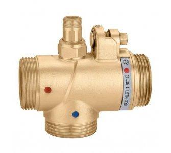 """Nastaviteľný termostatický zmiešavací ventil pre systémy centrálneho vykurovania, DN 50, 2 3/4"""""""